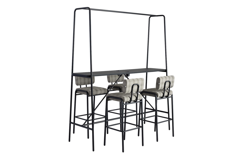 Cosmo bar and bar stools by Jonas Ihreborn